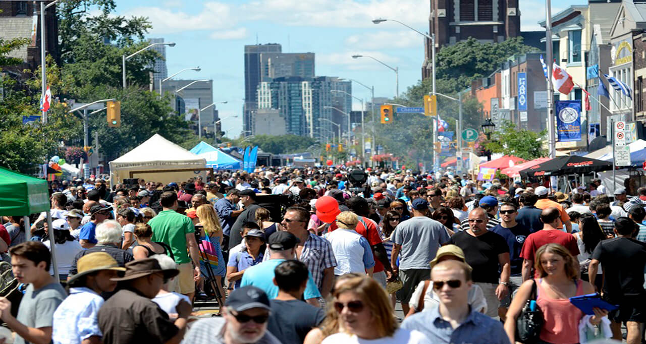 Taste of the danforth for Ares montreal cuisine