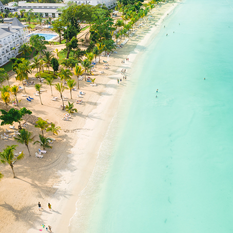 WIN A VACATION FOR 2 TO MONTEGO BAY, JAMAICA FROM AIR CANADA VACATIONS, GRAND PALLADIUM LADY HAMILTON RESORT AND SPA,  AND VISIT JAMAICA
